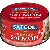 SAFCOL Premium Salmon Mild Red Chilli 95g Can x 12