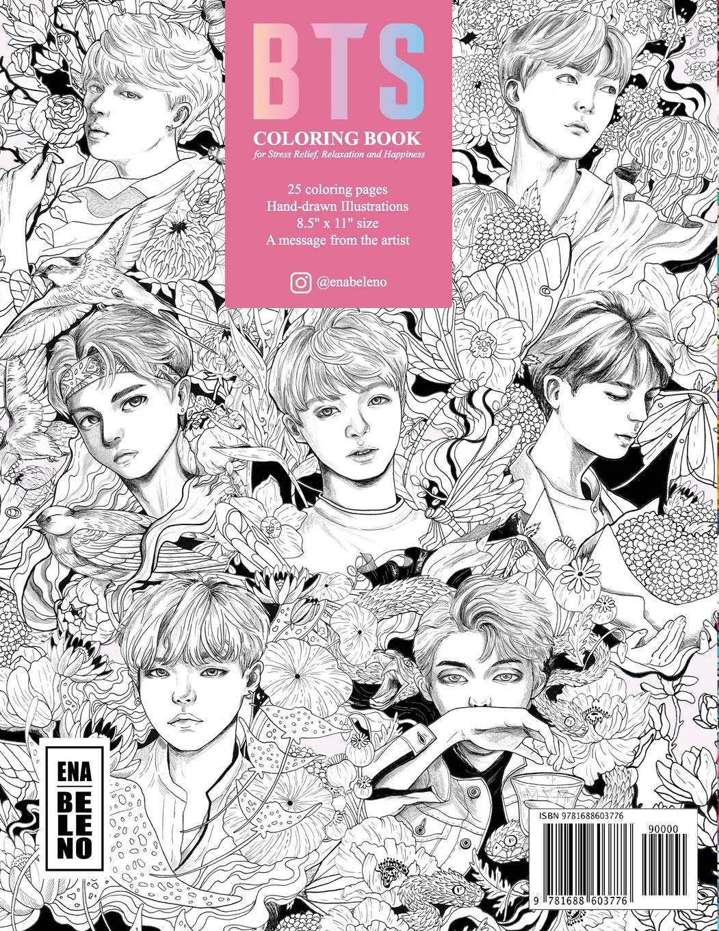 thewallzgallery Cute Coloring Pages Bts