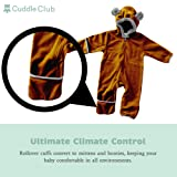 Cuddle Club Fleece Baby Bunting Bodysuit for