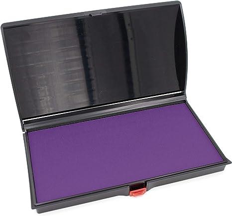 Quality Felt Pad 3 by 6 Large Premium Purple Ink Stamp Pad
