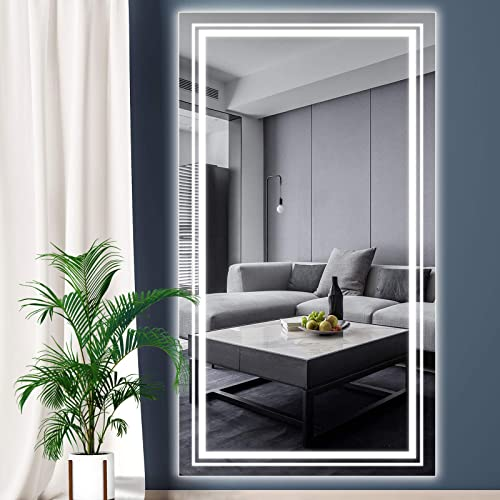 WIHTU LED Full Length Mirror