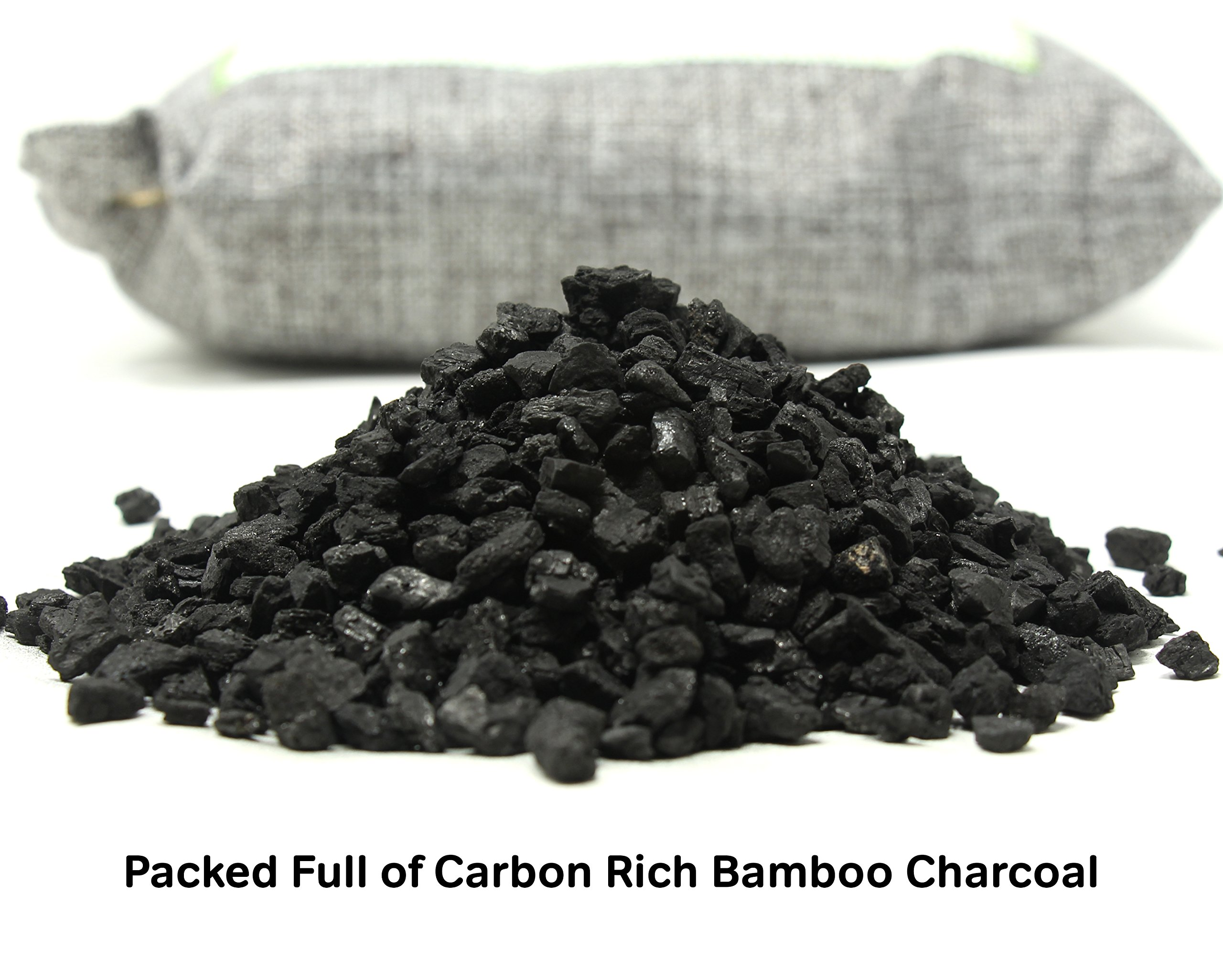 1000g Large Bamboo Charcoal Air Purifier Bag - Deodorizer and Air Freshener - Remove Odor and Control Moisture in Your RV, Camper, SUV, Car, Semi truck, Closet, Mobile Home, Storage - Non fragrant by bmbu (Image #3)