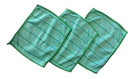 f3f06c120d 3 x Chiffon de nettoyage pour lunettes lunettes I Chiffon microfibre pour  entretien, bambou chiffon
