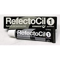 Refectocil Eye Lash & Eye Brow Tint 1 Pure Black, 15 ml