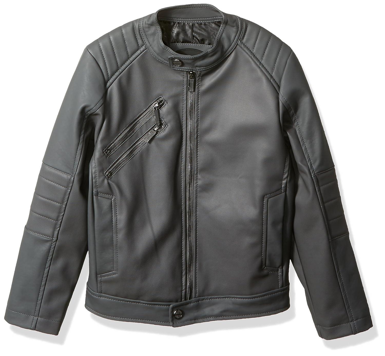 Urban Republic Boys Texture Faux Leather Jacket