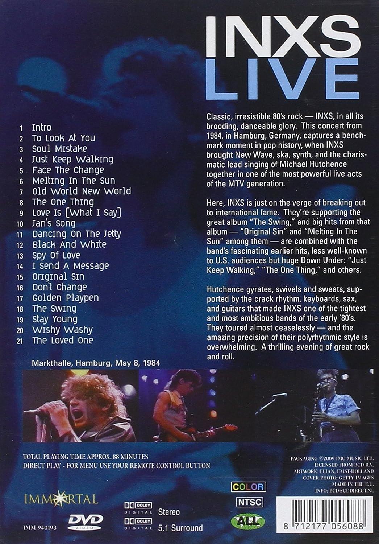 1984: Live: Germany: Amazon ca: Inxs: DVD