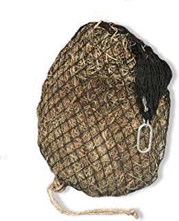 """product image for hay chix Slow Feed Hay Net for [Horse and Livestock Health, hay Feeder, hay net, Slow Feed hay net] Save Your time, hay and Money! Half Bale Net (1 3/4"""" Heavy Duty)"""
