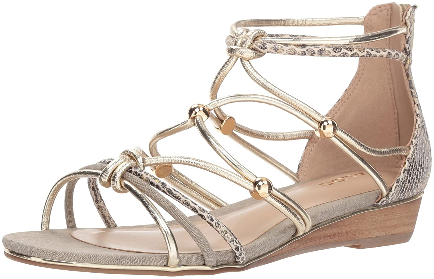 25831cce2f4d Amazon.com  ALDO Women s Muriele Flat Sandal  Shoes