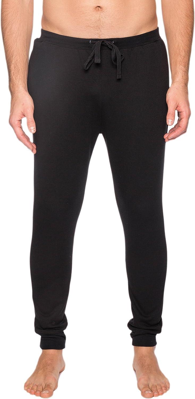 Noble Mount Men's Fleece Lined Jogger Lounge/Sweat Pants