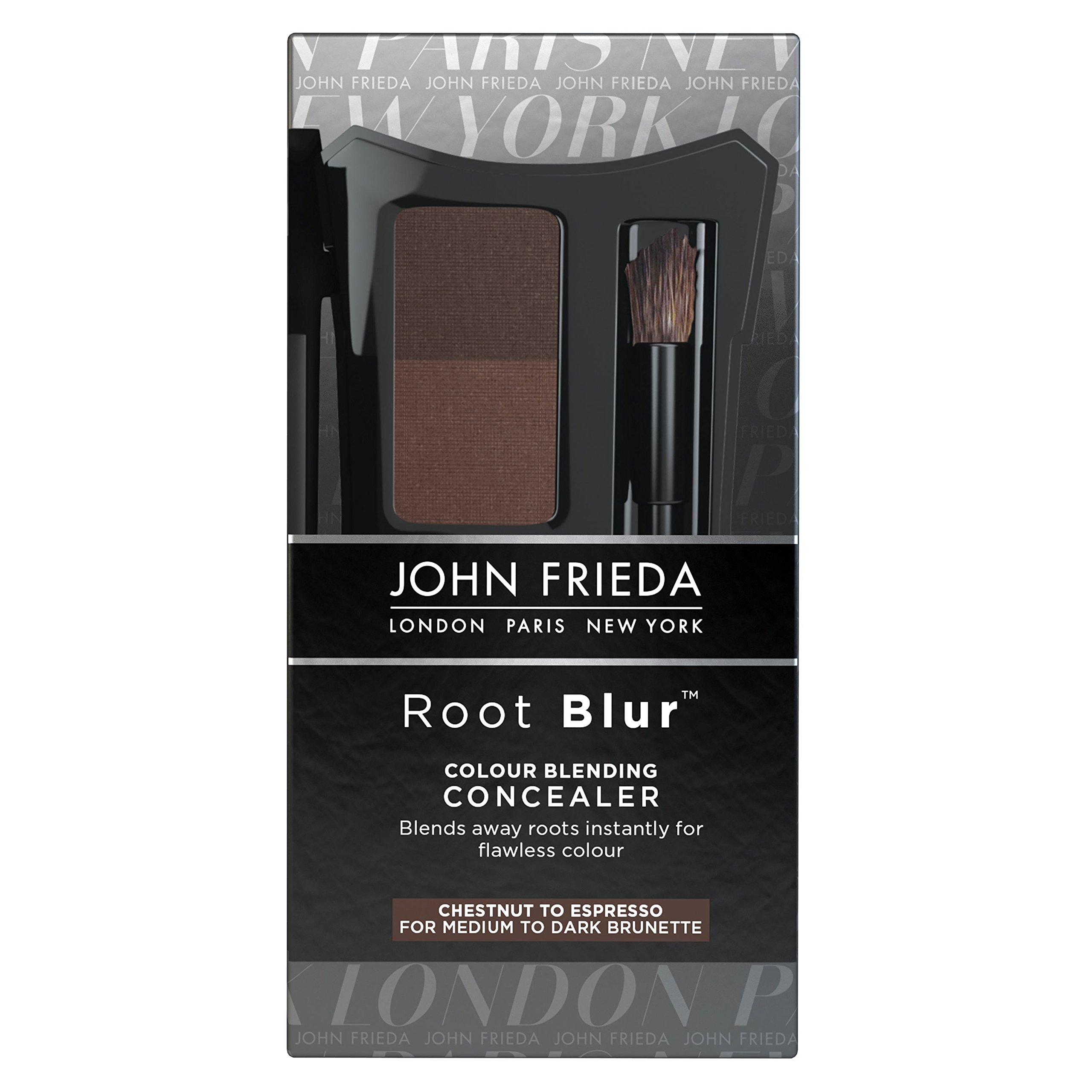 John Frieda Root Blur Color Blending Concealer Chestnut to Espresso Brunettes