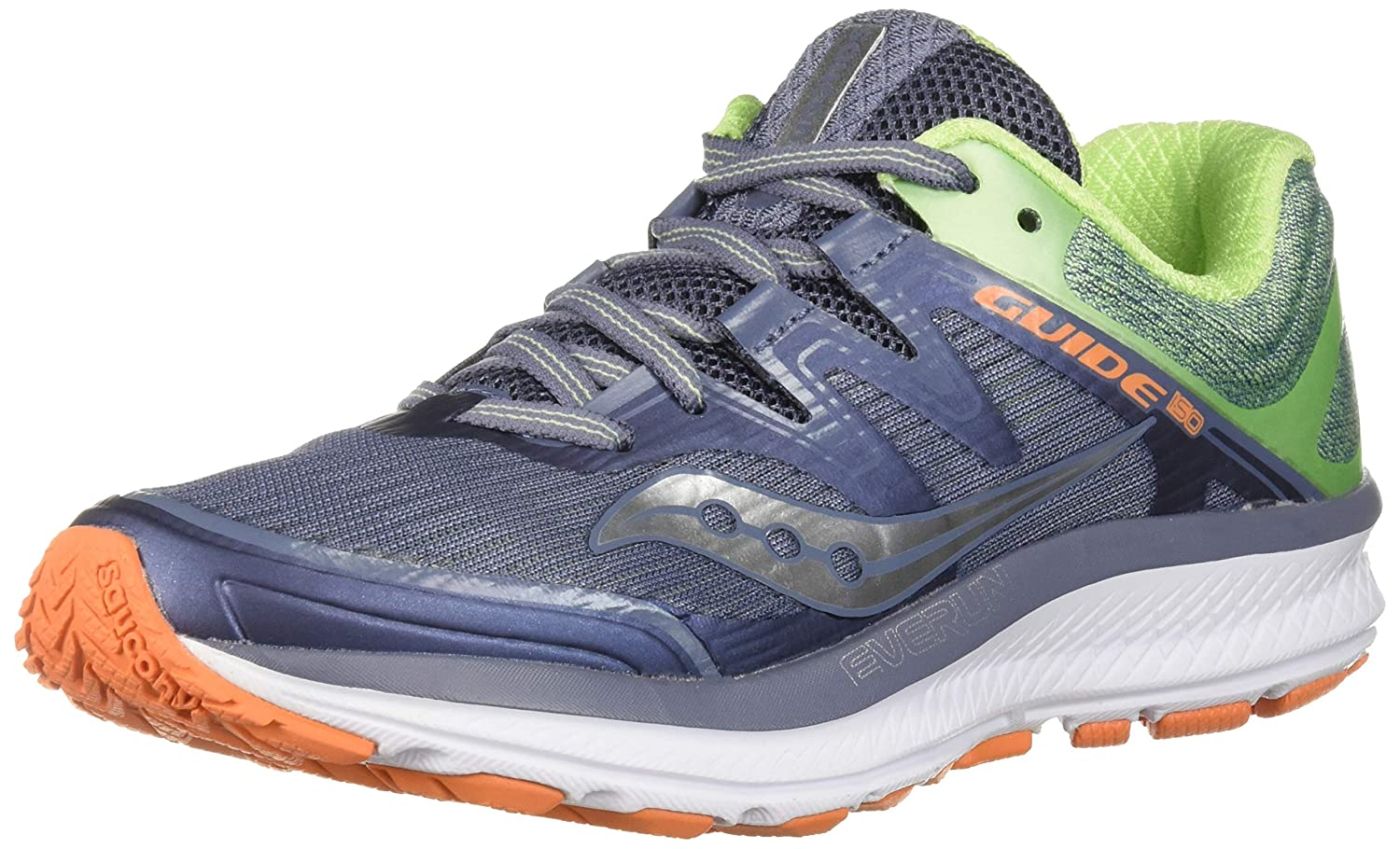 Grey   Mint   orange Saucony Women's Guide ISO Running shoes