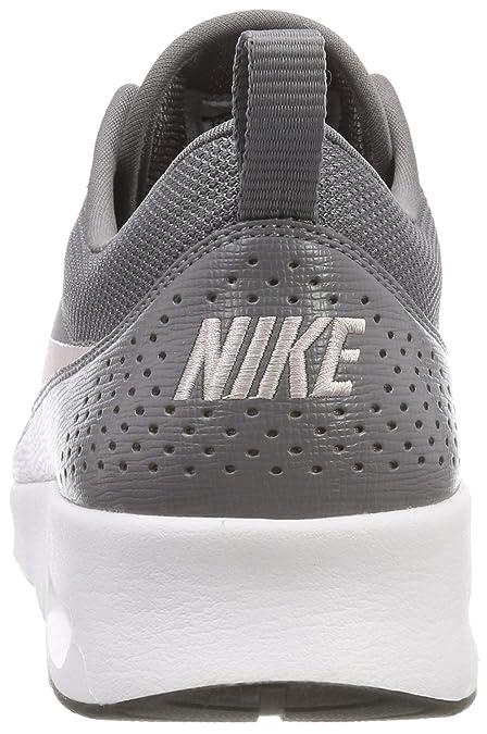 online store 68c38 76d7c Amazon.com   Nike Women s Air Max Thea Gunsmoke Particle Rose Black Running  Shoe 7.5 Women US   Road Running