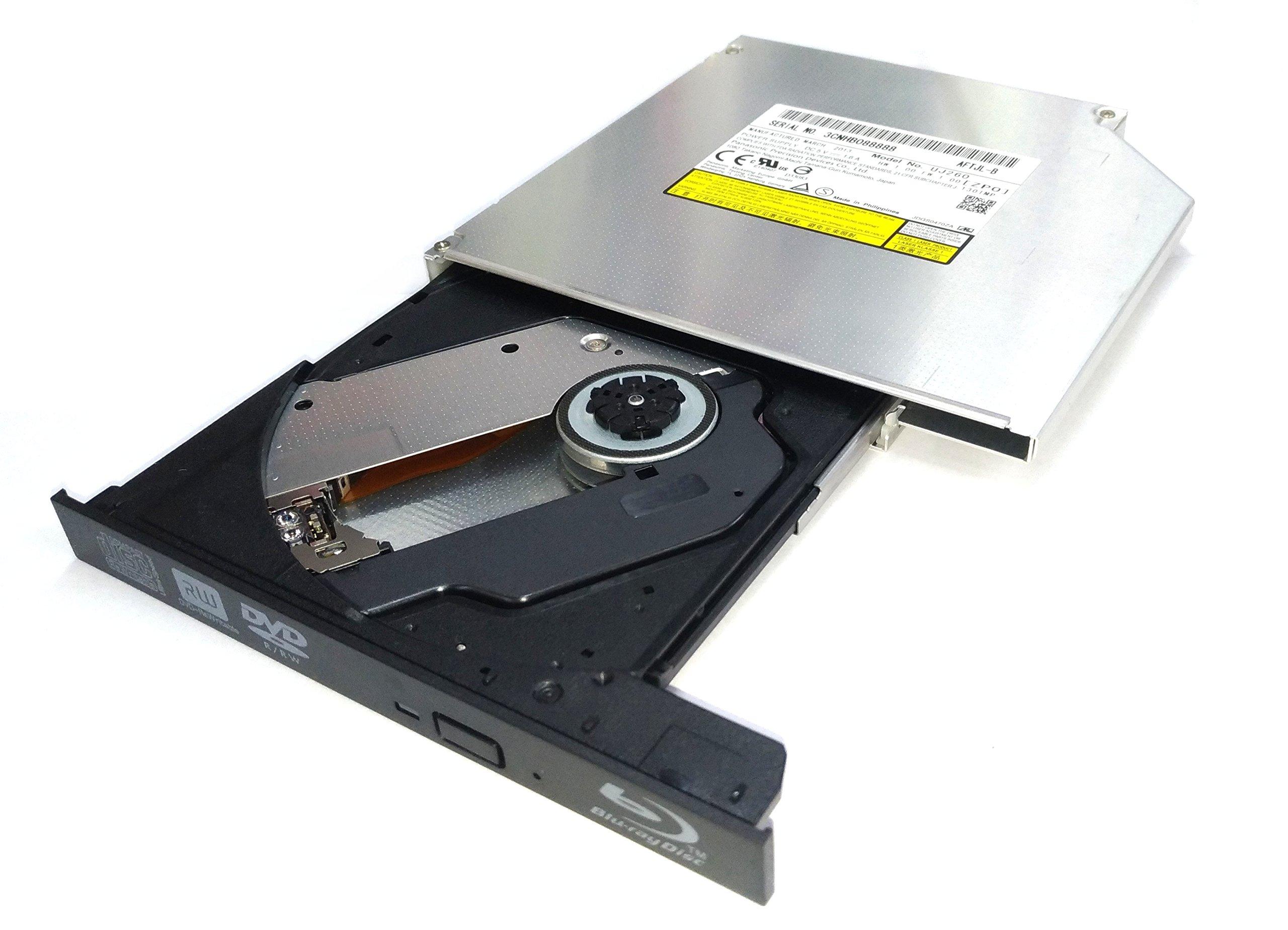 HAZYYO Laptop Internal UJ-260 UJ260 12.7mm SATA 6X Blu-ray Burner BD-RE BDXL DL Dual Layer Bluray Recorder Super Slim Internal Optical Drive by HAZYYO