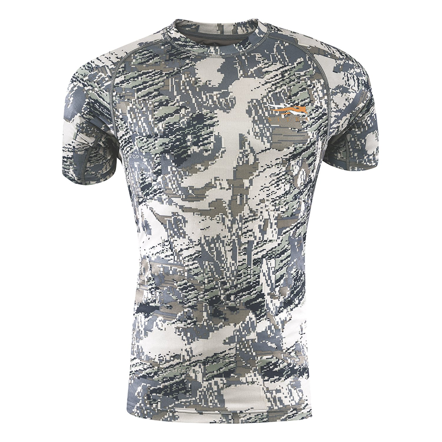 SITKA Gear Core Light Weight Crew - Short Sleeve Optifade Open Country Small