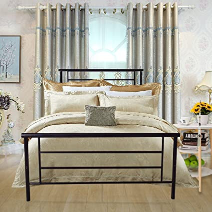 Amazoncom Homerecommend Metal Bed Platform Box Spring Replacement