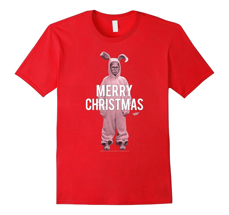 A Christmas Story Merry Christmas Ralphie Bunny Clipped-Art