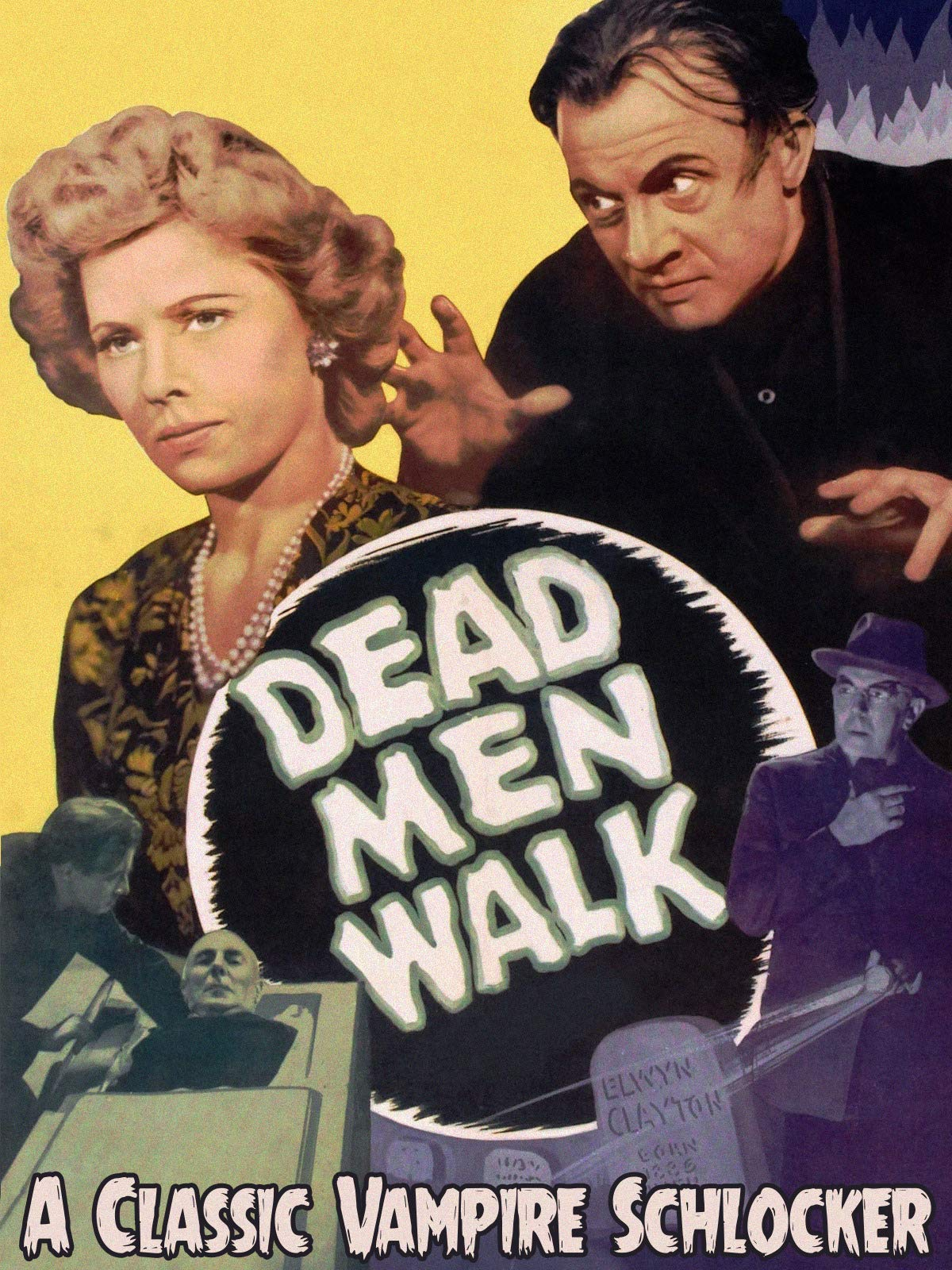 Dead Men Walk - A Classic Vampire Schlocker on Amazon Prime Video UK