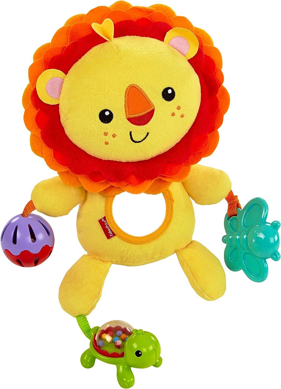 Fisher-Price León de actividades, juguete de peluche para bebé +3 ...