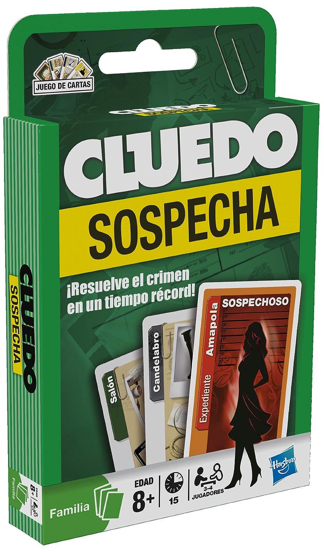 Hasbro Cluedo - Juego de cartas: Amazon.es: Juguetes y juegos