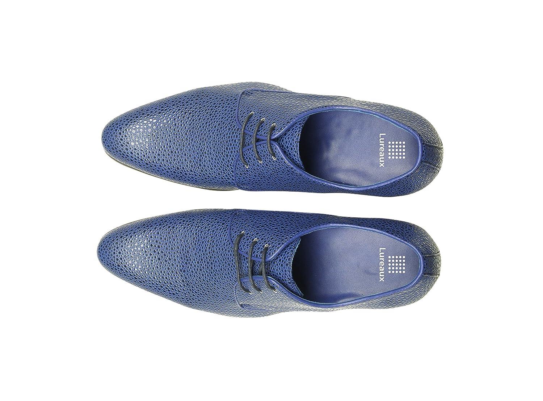 Lureaux Blau Ray Herrenschuhe Herren Uniform Berufsschuhe Elegant