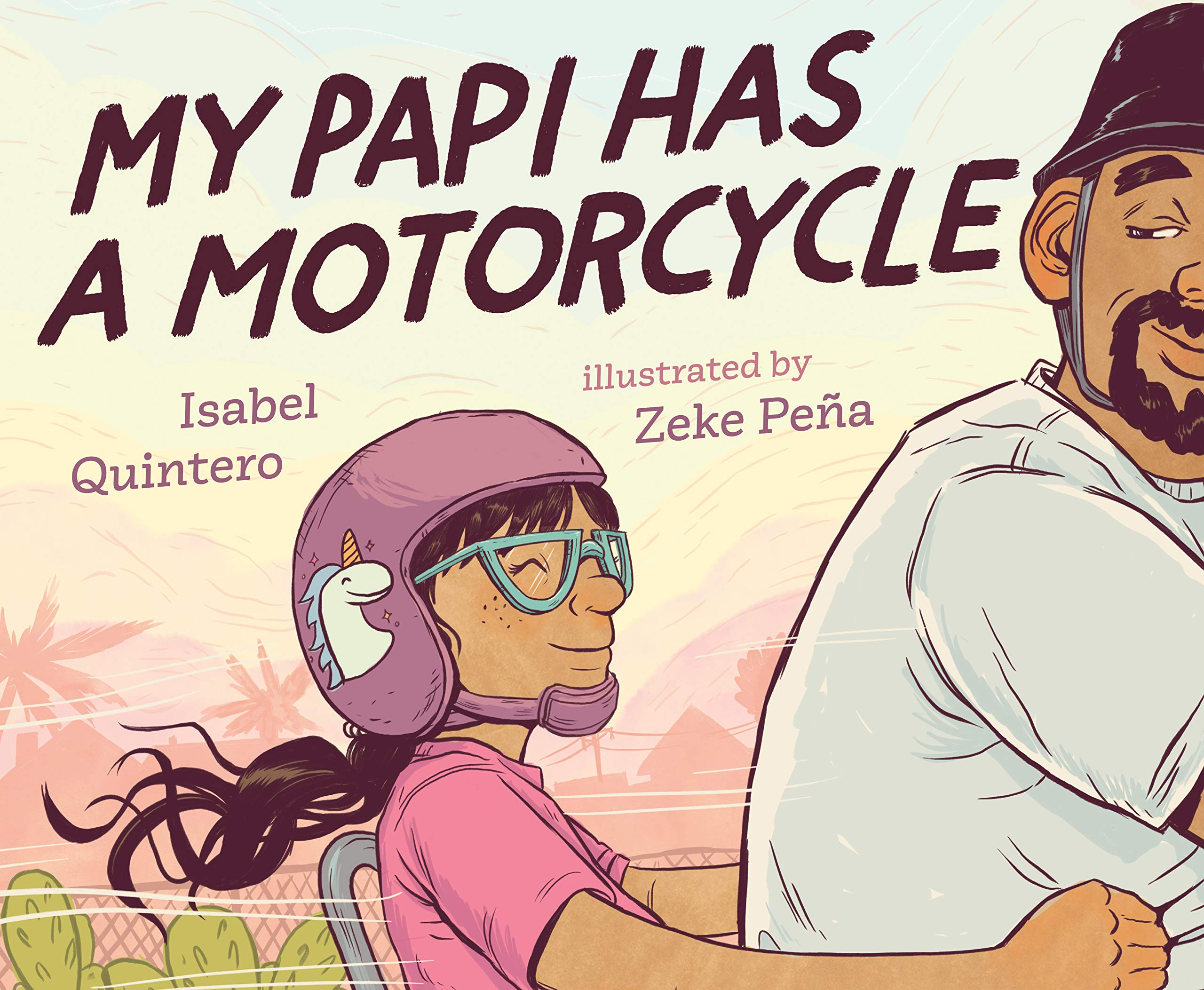 Image result for my papi has a motorcycle read aloud""