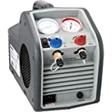 Robinair (RG3 Portable Refrigerant Recovery Machine – 115V, 60Hz, for Both Liquid and Vapor Refrigerant