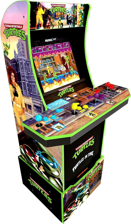 Tartarughe ninja TMNT Cabinato Arcade 1UP Old Style - Italia