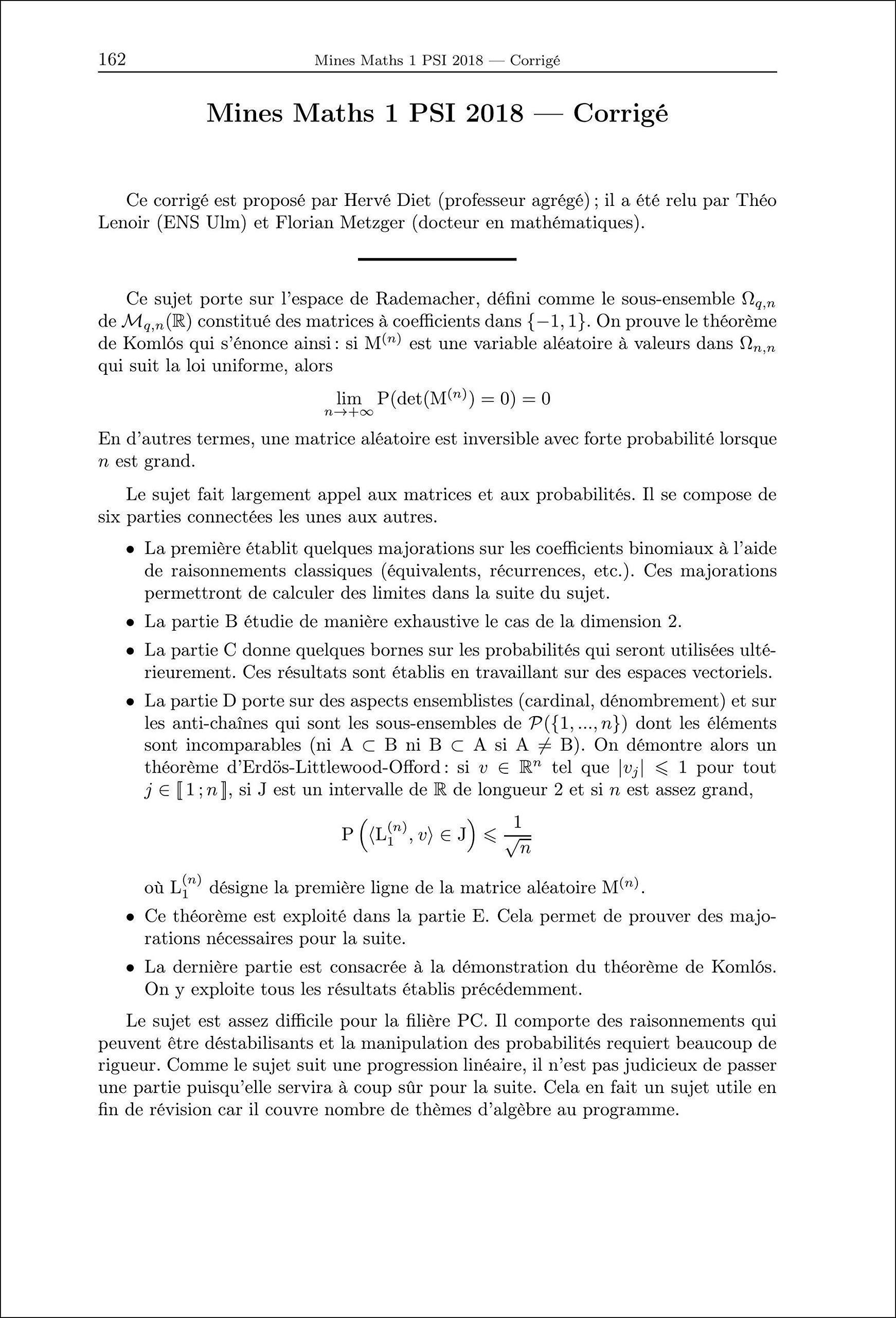 Mathématiques, Informatique PSI Annales des concours: Amazon.es: Collectif, William Aufort, Benjamin Monmege, Vincent Puyhaubert: Libros en idiomas ...