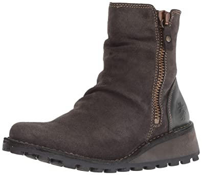 34468ad1251 FLY London Women s MONG944FLY Ankle Boot Diesel Oil Suede Rug 36 M EU (5.5
