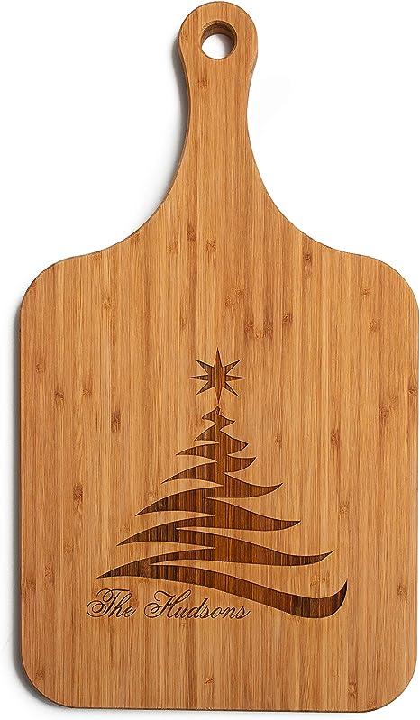 tuuli Kitchen Tabla de Cortar de Madera con Grabado l/áser Personalizado Regalo Ideal 30 x 14 cm