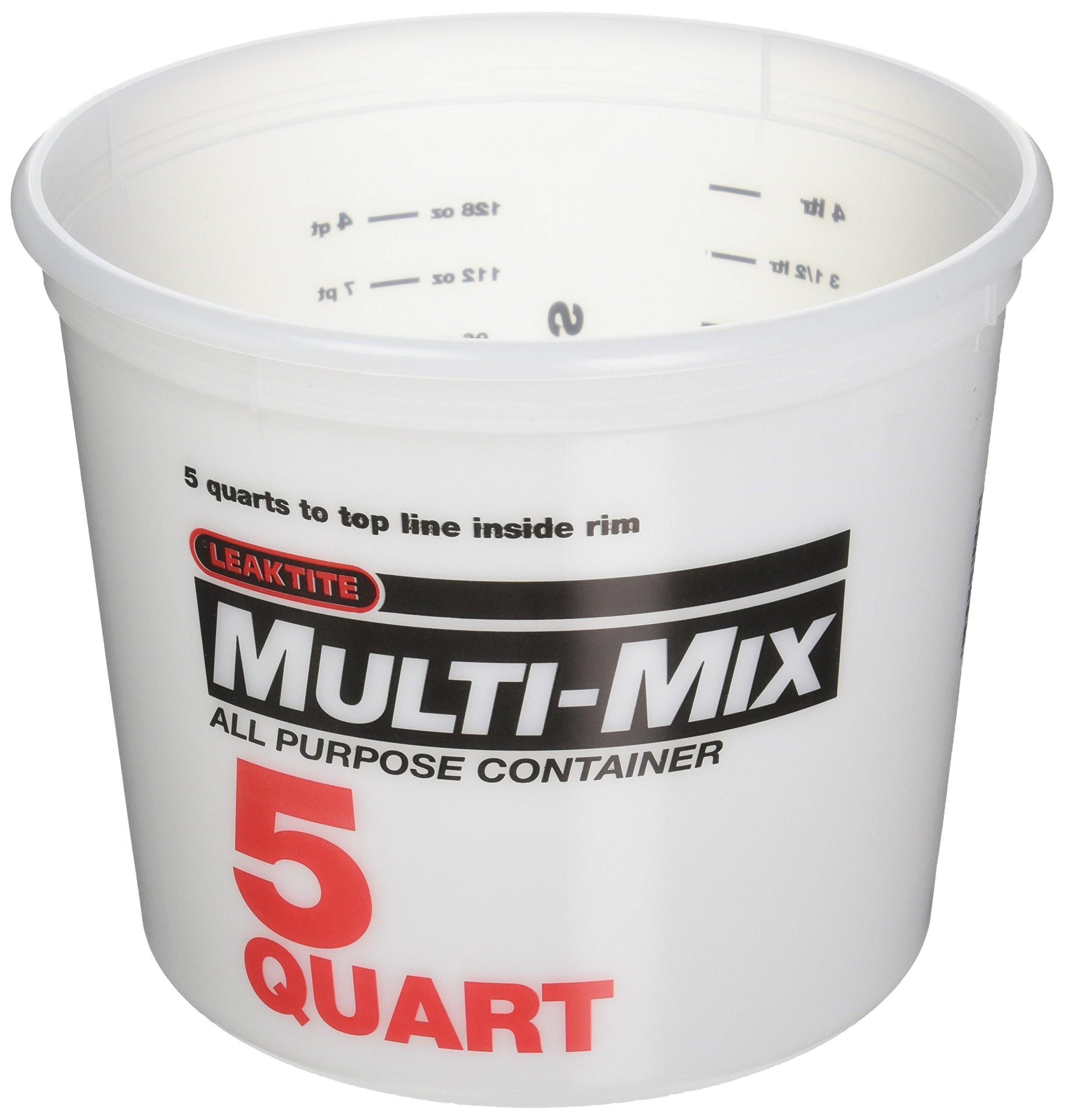 LEAKTITE 10M3-50 5-Quart Mixing Container