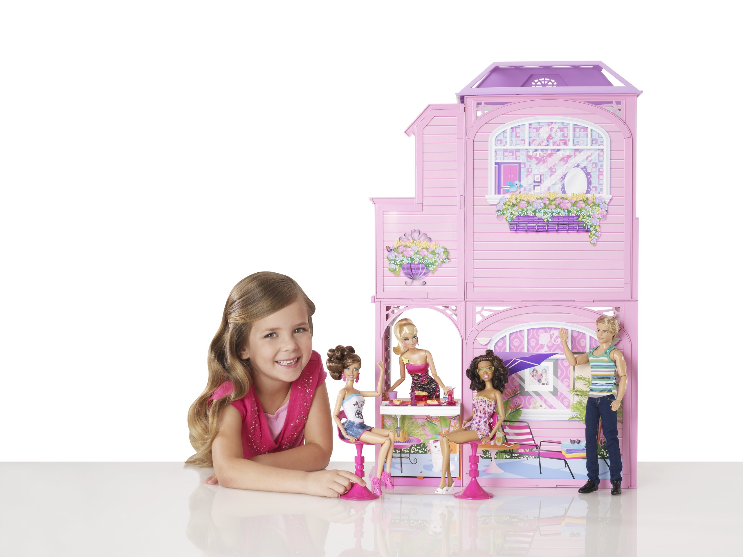 Barbie 2-Story Beach House by Barbie (Image #6)
