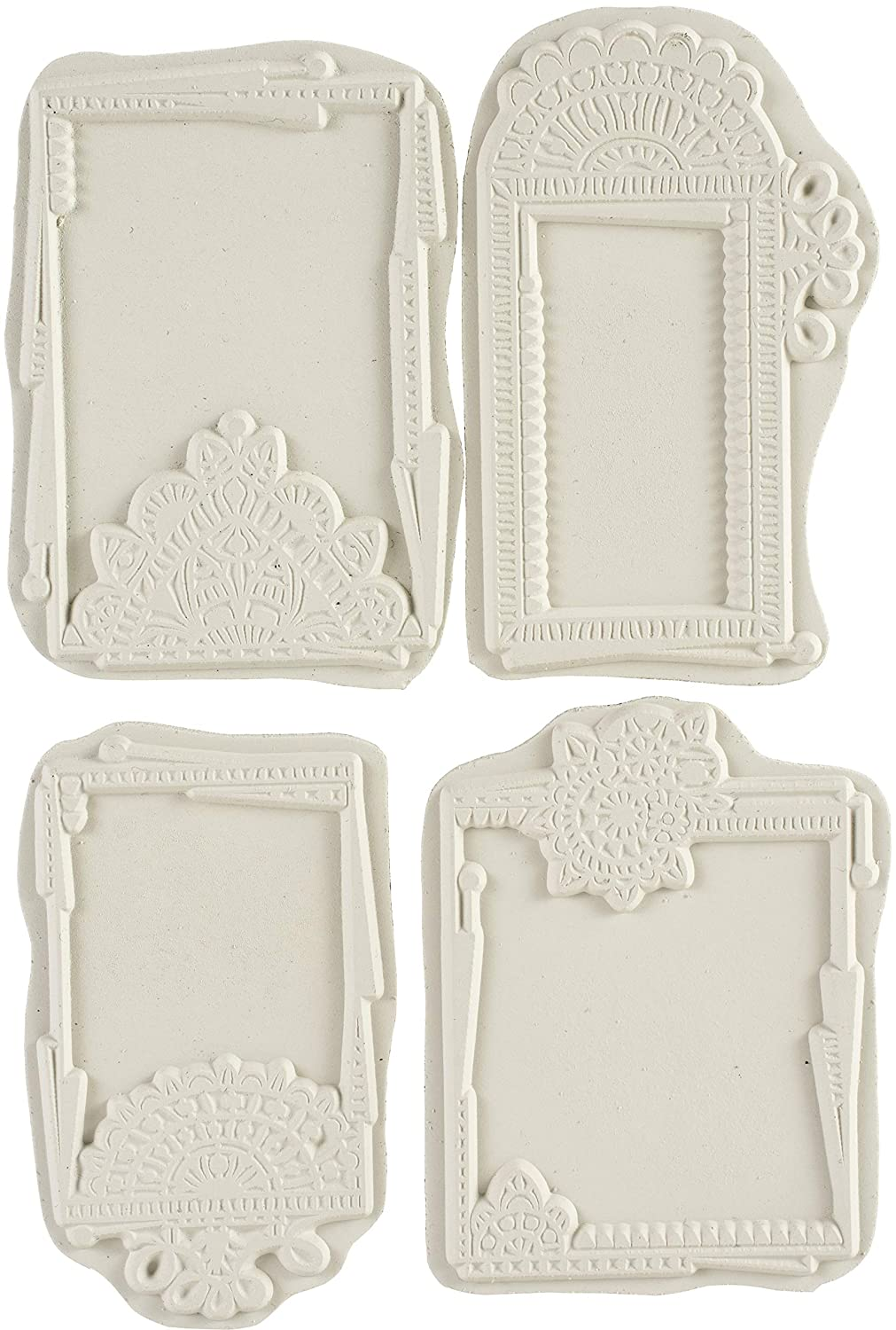 us:one Size Carabelle Studio SA60408 Cling Stamp A6 by Azoline-Openwork Labels