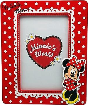 Minnie Mouse - Portafotos de madera, 10 x 15 cm (Kids WD91010): Amazon.es: Juguetes y juegos