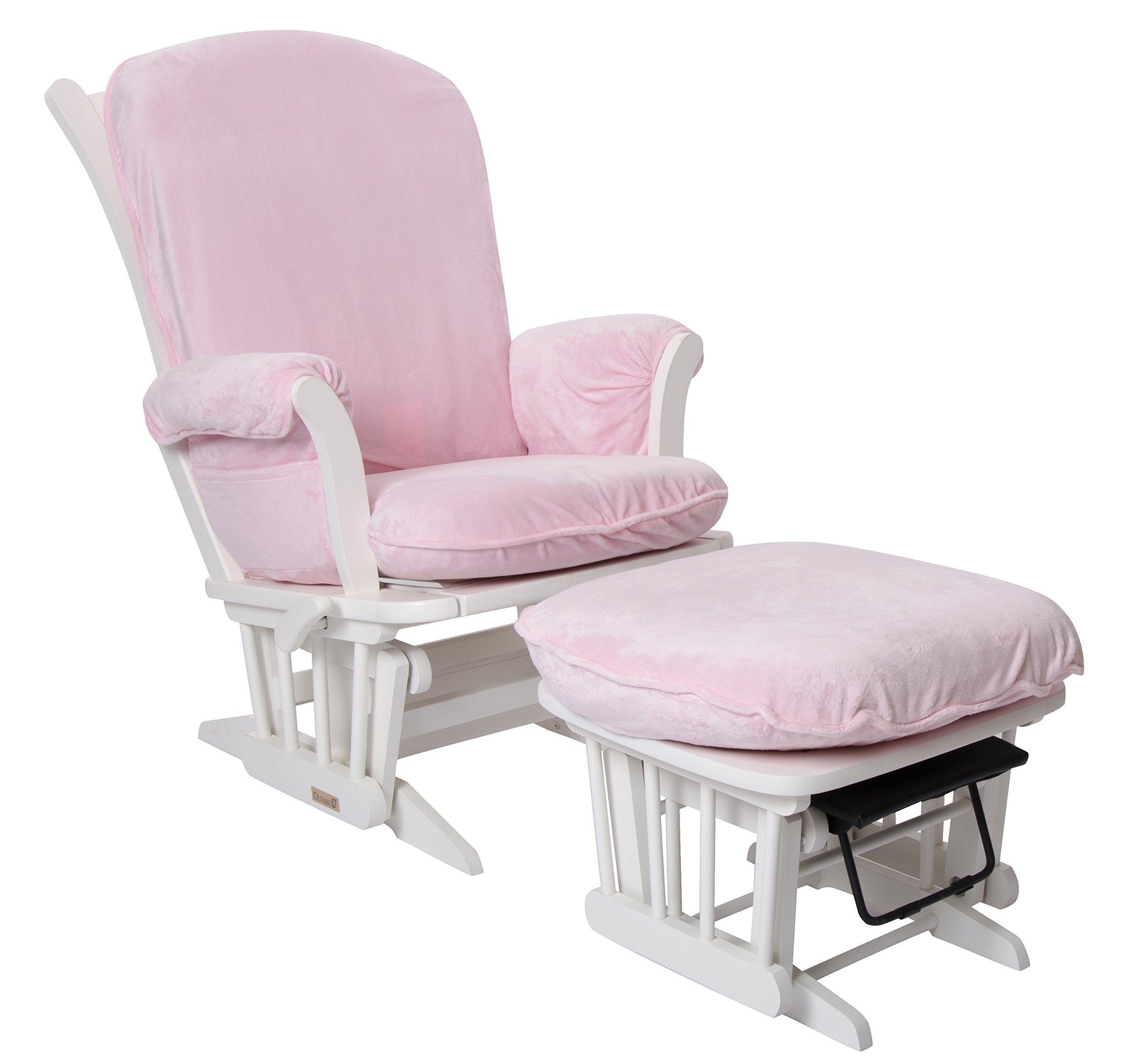 Luxe Basics Cover Me Glider Chair Cover (Chair NOT included), Pink