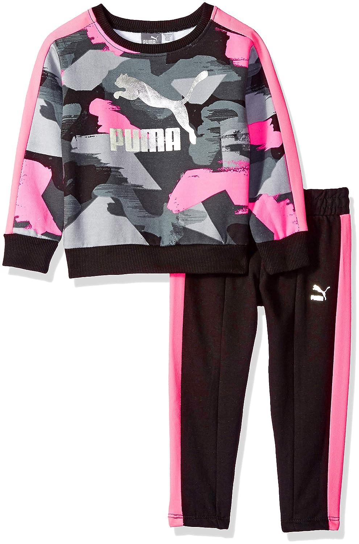 PUMA Girls Pullover Fleece Set