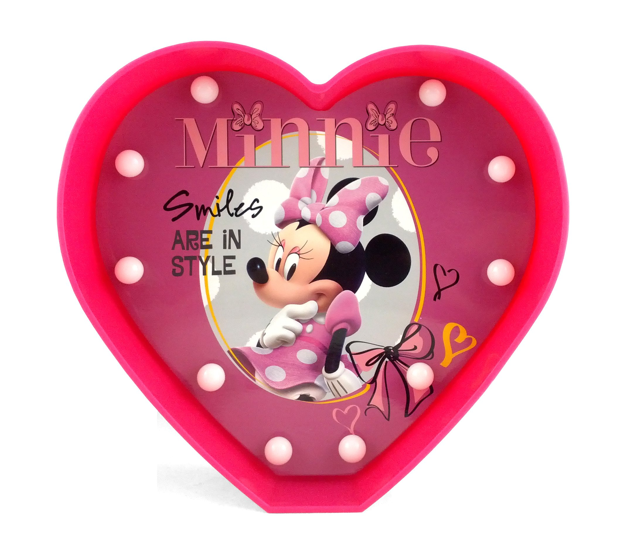 Disney WK318589 Minnie Mouse Marquee Lights