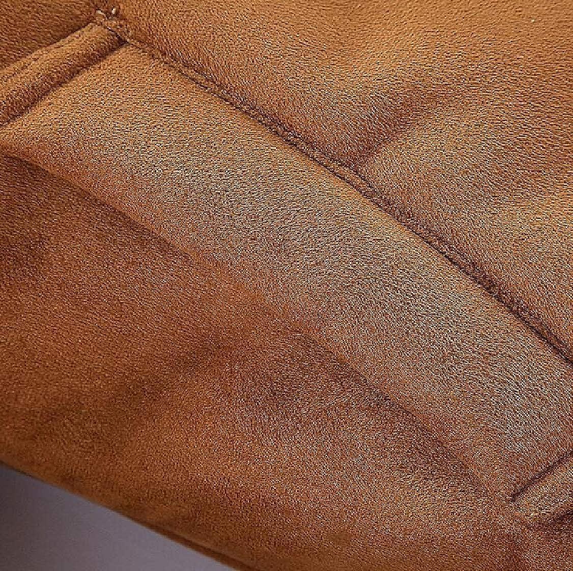 XQS Mens Winter Warm Thick Heavy Fleece Lined Parka Jacket Coat