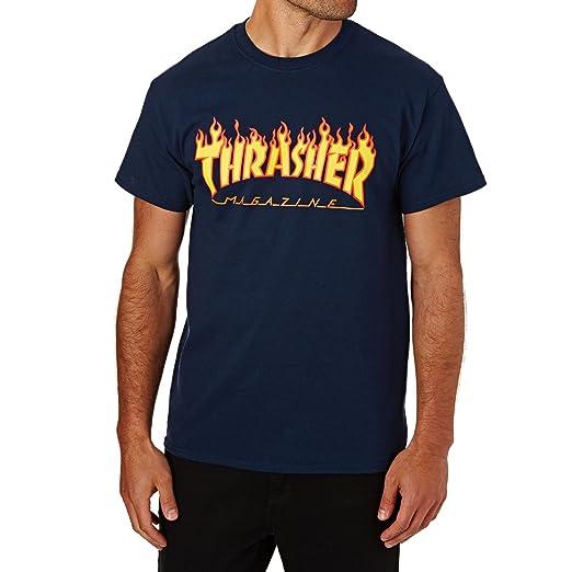 0569606830d Thrasher Flame Short Sleeve T-Shirt