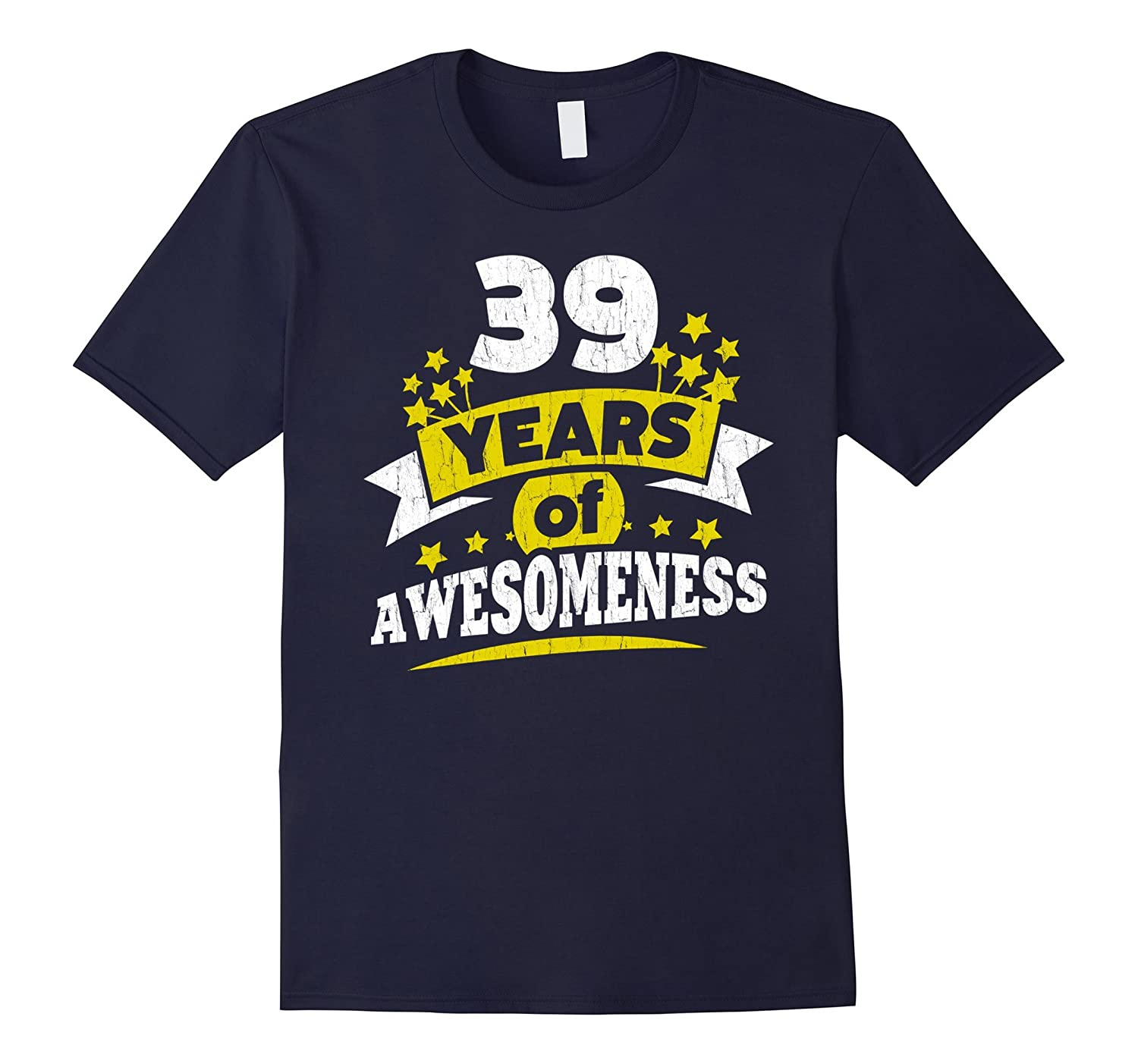 Birthday Gift For 39 Year Old Woman 39th Tee Shirt PL