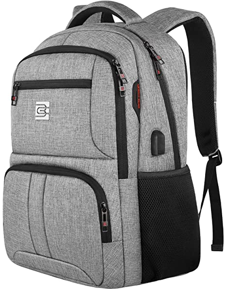18d5267f2 Travel Laptop Backpack,Anti Theft Durable Slim Business Computer Backpack  With USB Charging Port Headphone