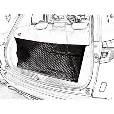 kaungka Cargo Net Nylon Rear Trunk for 2014-2020 Honda HRV: Automotive