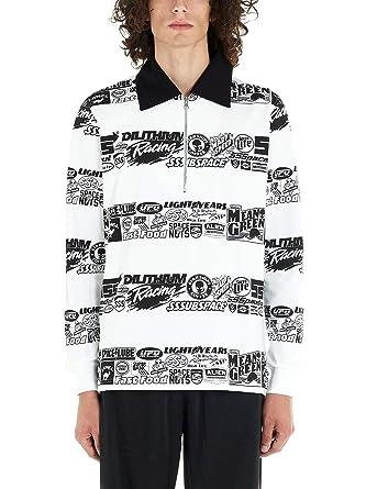 SSS WORLD CORP Luxury Fashion Hombre LSPOLO1WHTE Blanco Polo ...