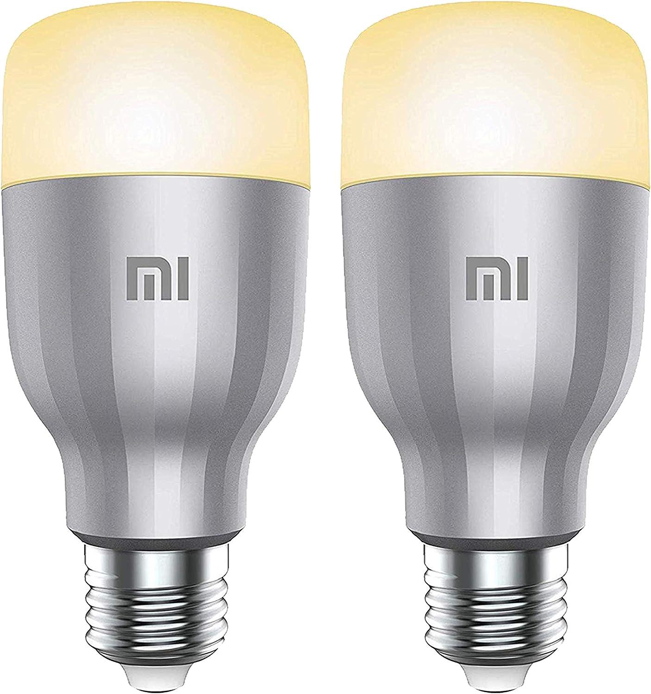 2 bombillas inteligentes Xiaomi Mi LED compatibles con Alexa por 24,99€