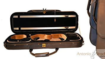 Amazon.com: Strad Companion Lightweight Oblong Violin Case 3 ...