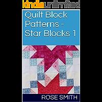 Quilt Block Patterns - Star Blocks 1