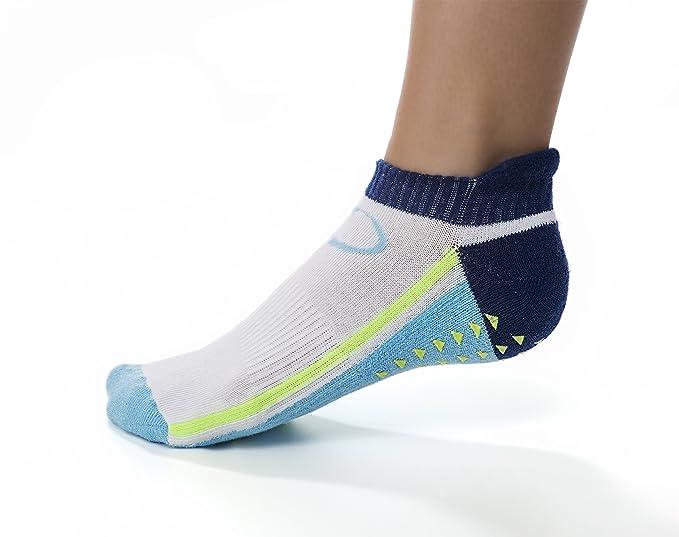 466c2ca95 Amazon.com  Copper Fit Unisex-Adults Low Cut Gripper Socks-2 Pack ...
