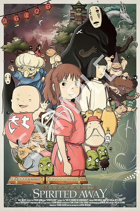 Amazon Com Best Print Store Studios Ghibli Anime Spirited Away Art Poster 11x17 Inches Posters Prints