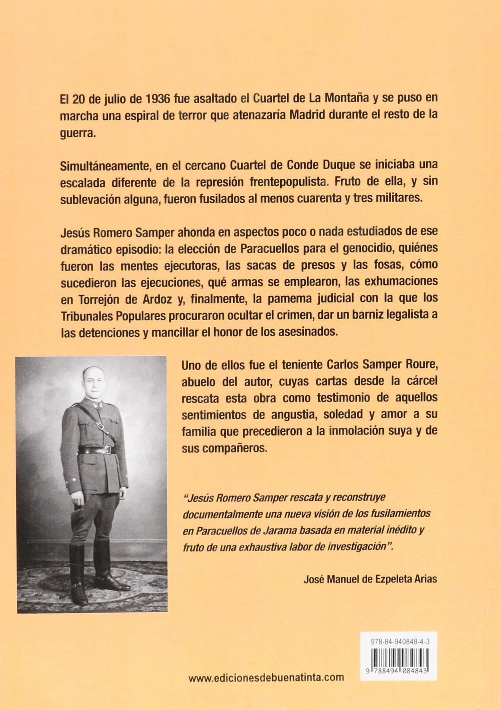 Cartas a Paracuellos: Conde Duque: el otro cuartel mártir ...