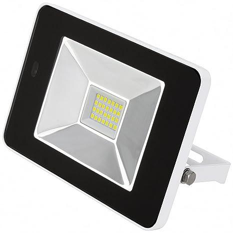 Proyector foco LED con detector de movimiento integrado y control remoto, reflector 10W 20W 30W